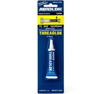 Abro TL-342 Threadlock Фиксатор резьбовых соединений, синий