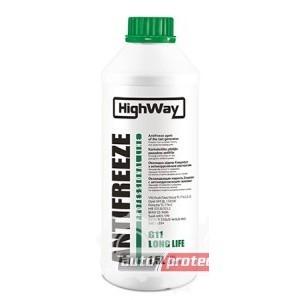 HighWay G11 -50С Антифриз концентрат зеленый