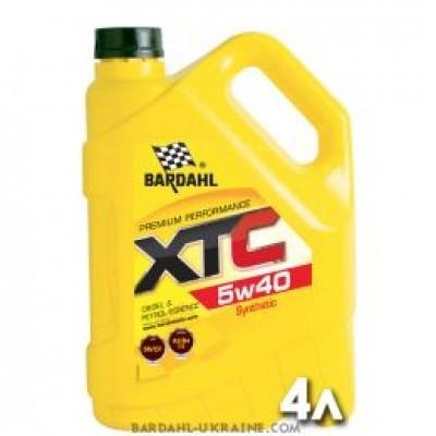 XTC 5W40 масло полусинтетическое BARDAHL
