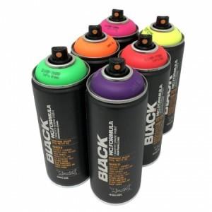 Montana Black Infra Аэрозольная краска для граффити, флуоресцентная