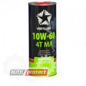 VeryLube 10W-60 4Т MA Синтетическое масло 4Т двигателей для мототехники