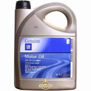 GM MOTOR OIL 5W-30 DEXOS 2
