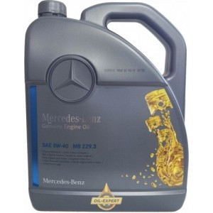 MERCEDES-BENZ ENGINE OIL 5W-40 MB 229.3 (A000989910213,A000989910211)