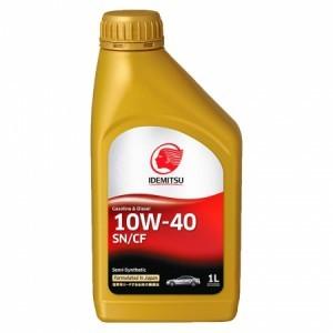 Idemitsu Gasoline & Diesel 10W-40 SN/CF Полусинтетическое моторное масло
