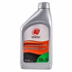 Idemitsu Racing GL-5 75W-90 Синтетическое трансмиссионное масло