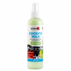Nowax Black Cockpit Milk Молочко-полироль для пластика
